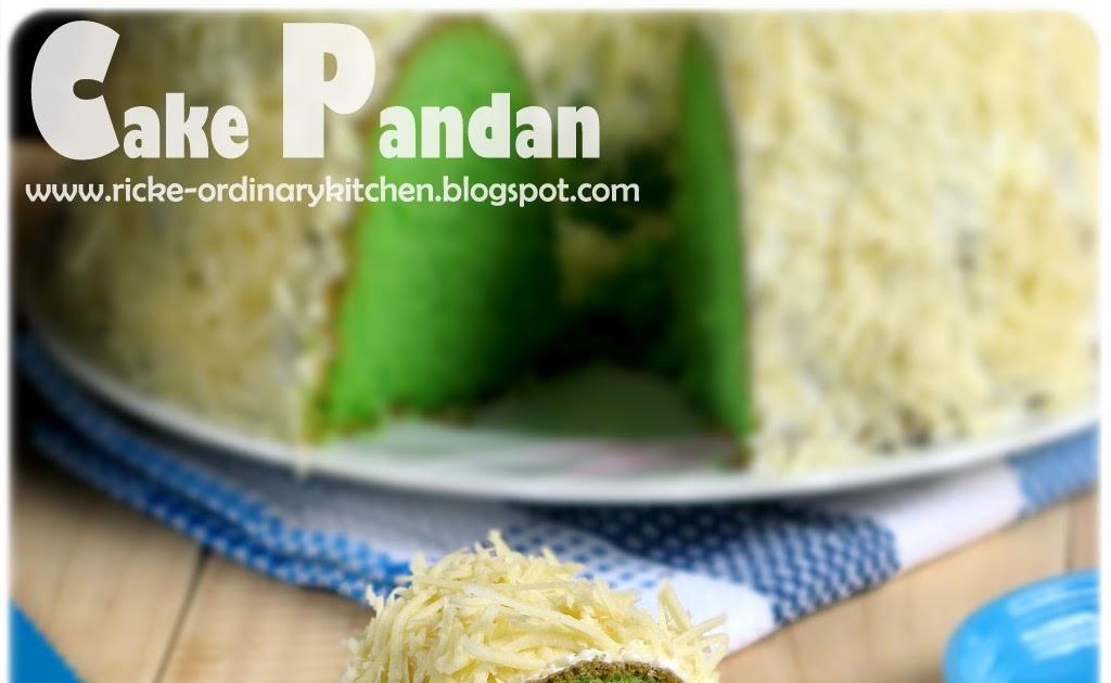 Cake Pandan Ricke