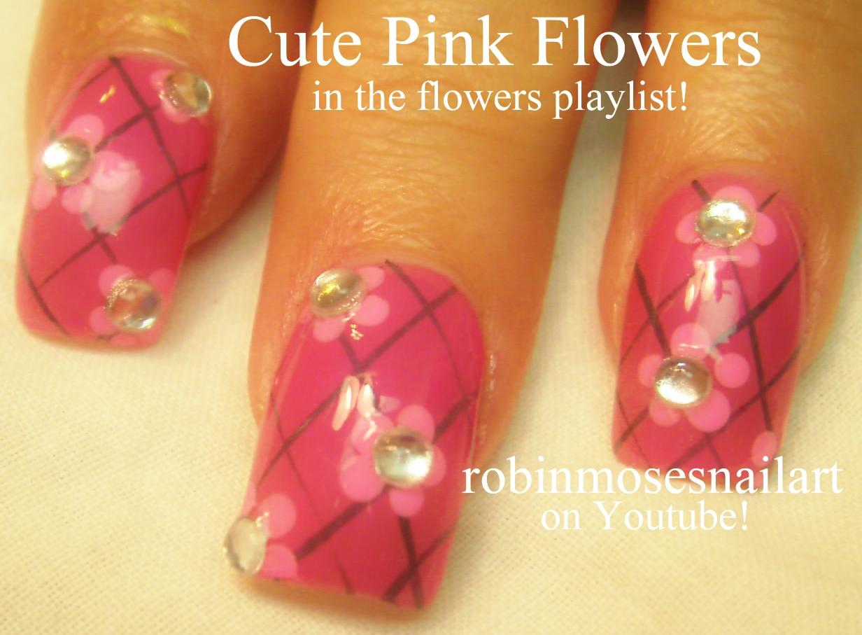 Robin moses nail art cutest nails girly pink nails cute pink cute retro nail art 80s inspired prinsesfo Image collections