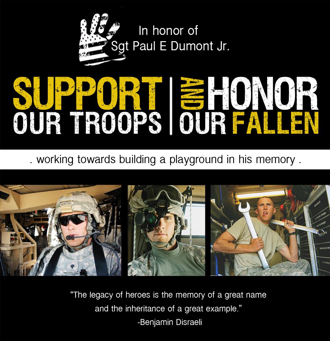 Sgt Paul Dumont jr. Memorial Fund
