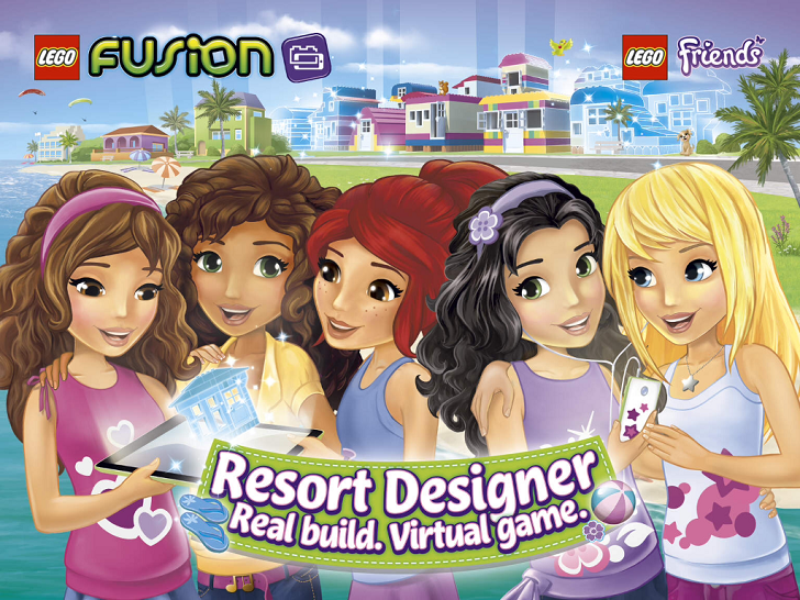 LEGO FUSION Resort Designer Free App Game By The LEGO Group