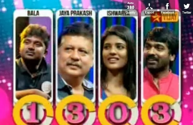 Naduvula Konjam Disturb Pannuvom – Episode 16 – Vijay Tv  Game Show  23-02-2014