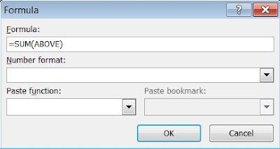 Cara menghitung angka di microsoft word 2007, cara hitung angka 3