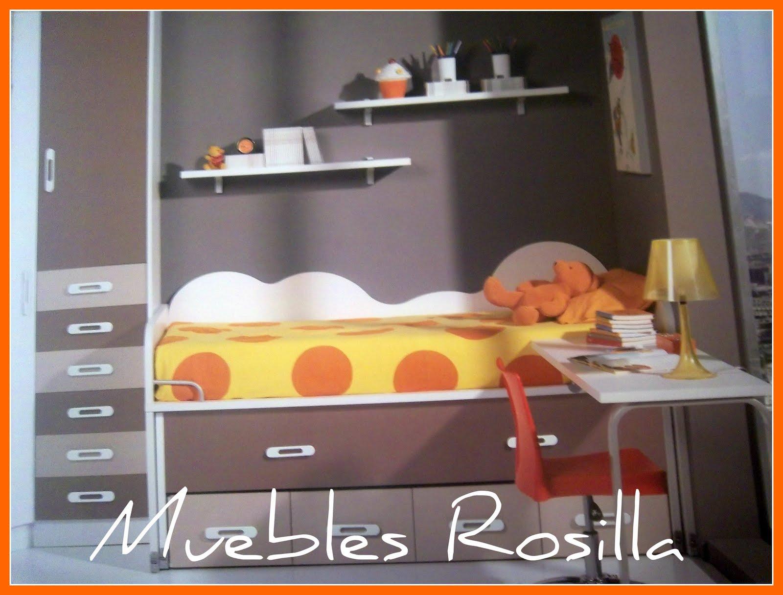 Muebles Rosilla Hervás: DORMITORIOS JUVENILES