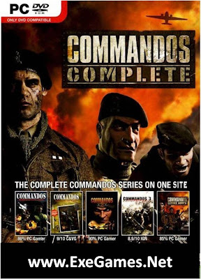Commandos 1,2,3,4,5 PC Game