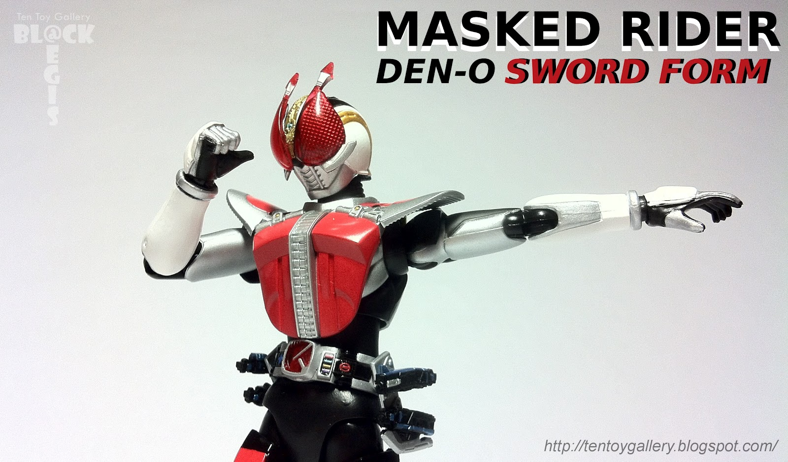 Ten Toy Gallery: Review: S.H.Figuarts Masked Rider Den-O Sword Form