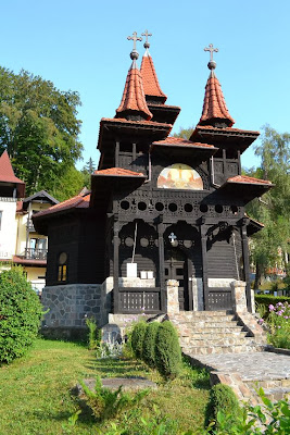 The resort-Wooden Church