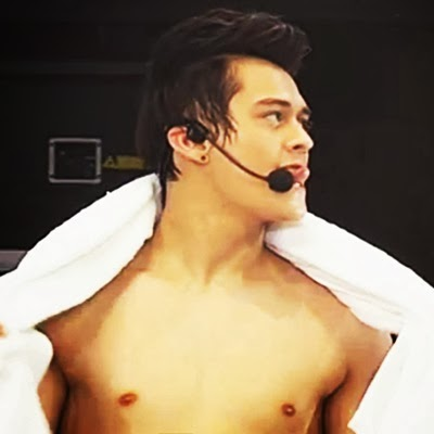 Enrique Gil, G-Force Stallions Shirtless on Sexy Dance Number