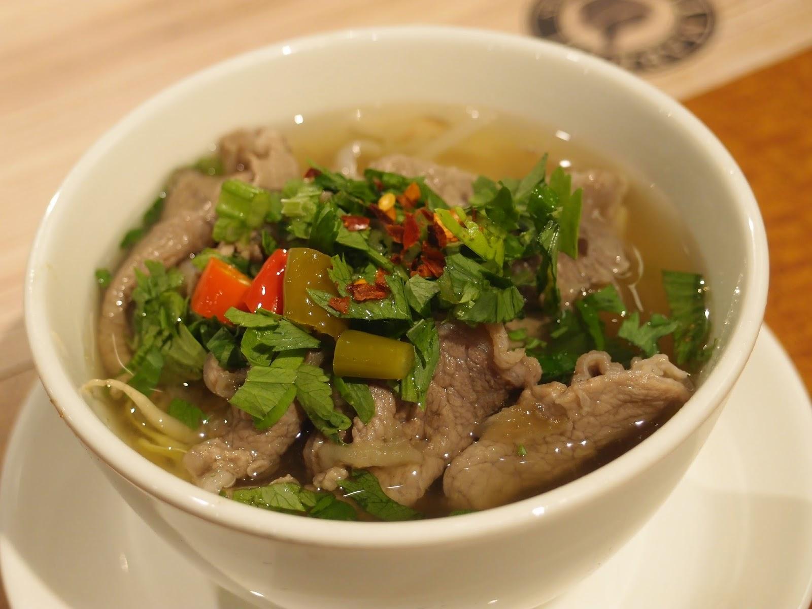 thai beef noodle