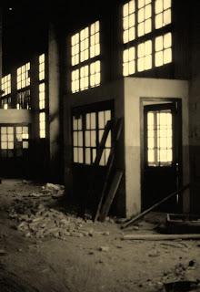 taller fabrica clot del moro asland abandono tren cement cemento