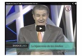 TV argentina denuncia manipulações da Globo