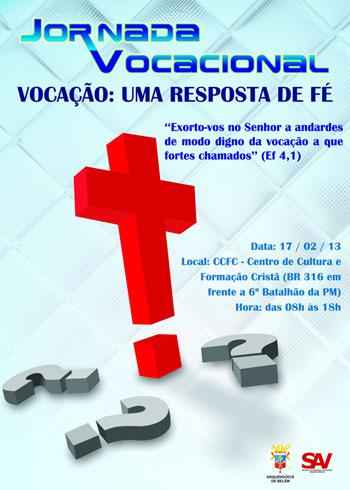 Jornada Vocacional Arquidiocese de Belém