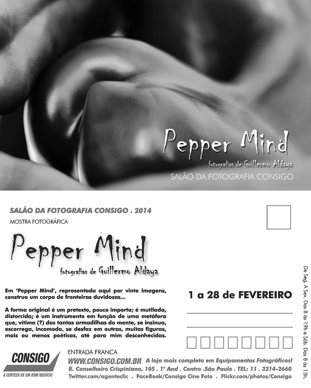 Pepper Mind, by Guillermo Aldaya / PhotoConversa