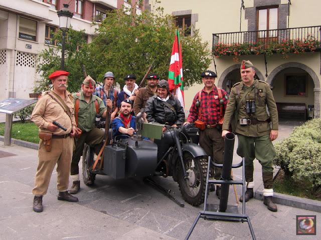 Visita guiada teatralizada al Cinturón de Hierro en Ugao (Bizkaia)
