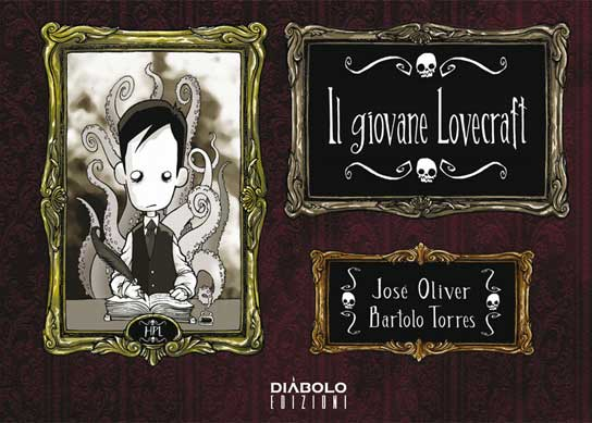 Il giovane Lovecraft, 2013, copertina