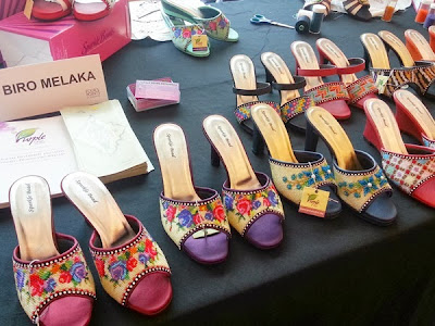 WireBliss - Beaded Shoes at BIBCO 2013