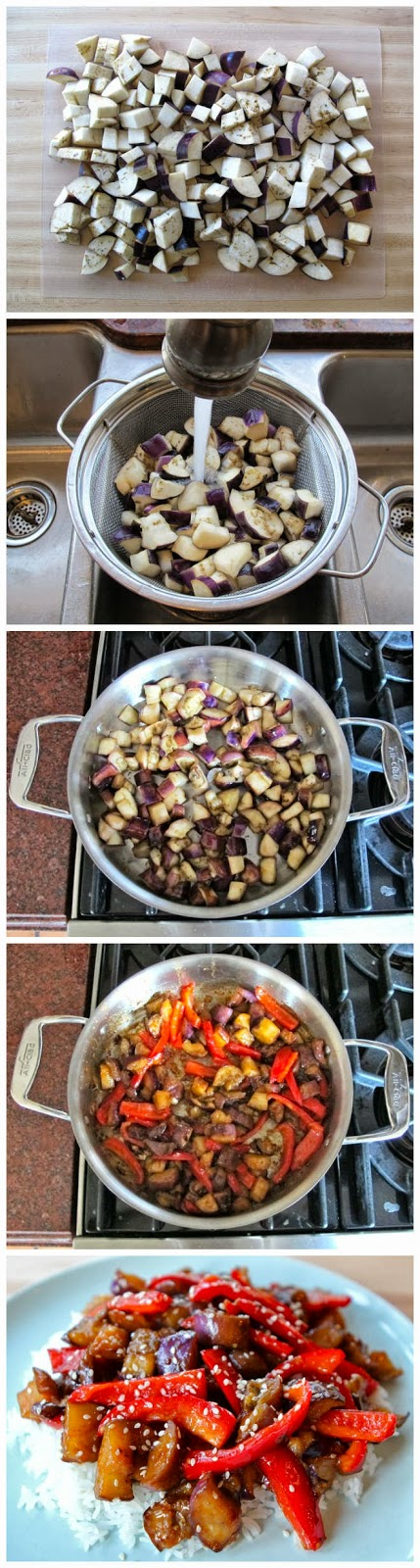 Sweet and Sour Eggplant - RedStarRecipe