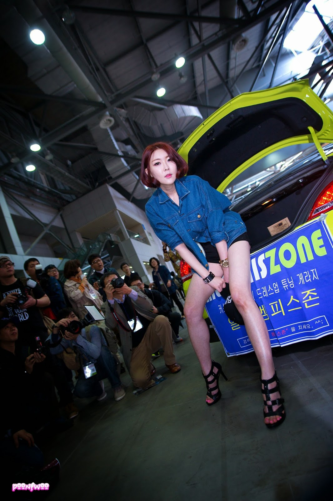 5 Na Young - Automotive Week 2014 - very cute asian girl-girlcute4u.blogspot.com