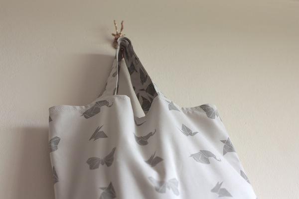 Ro Guaraz · bolsa origami · 22 · terminada