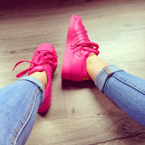 All Star Adidas Pink