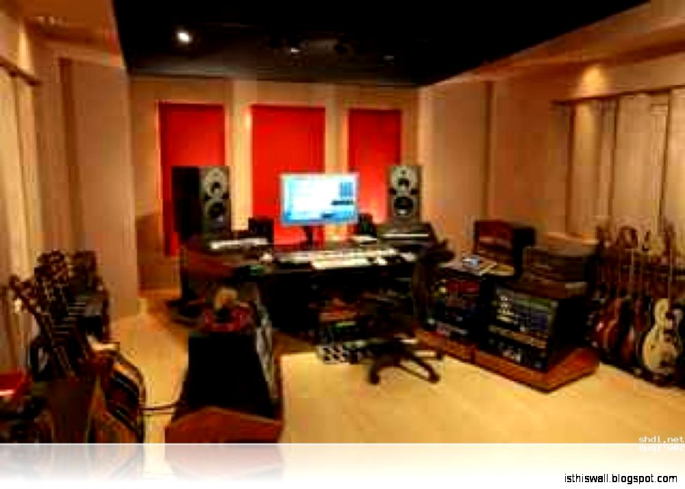 Home Sound Studio Design