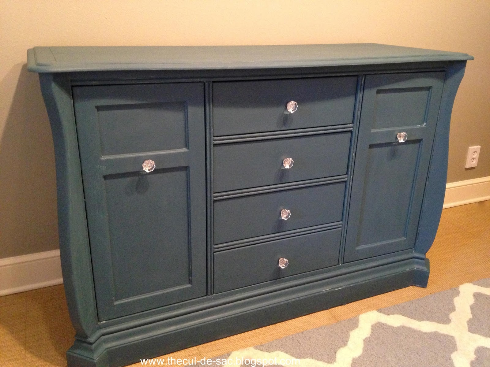 The Cul de sac Chalk Paint Makeover From Changing Table