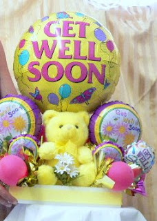 Get Well Soon bear 1