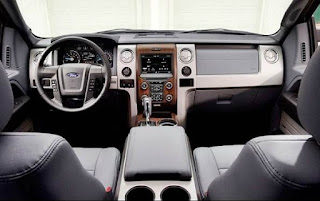 2016 Ford Bronco 4 Door Interior