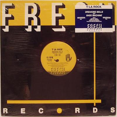 T La Rock – Breaking Bells / Bass Machine (1986, 12'') – 320 kb/s