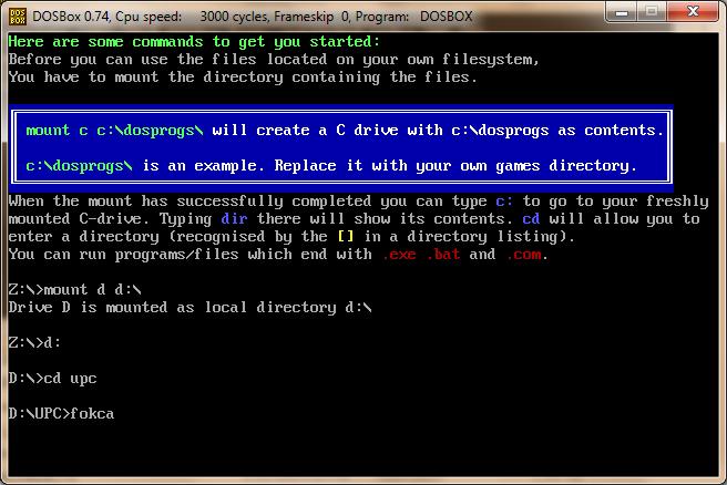 how to run dos programs in windows 7 64 bit