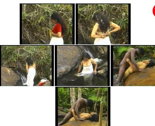 gori mallu indian with black mallu sex by waterfall