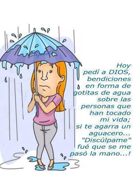lluvia de bendicion dios