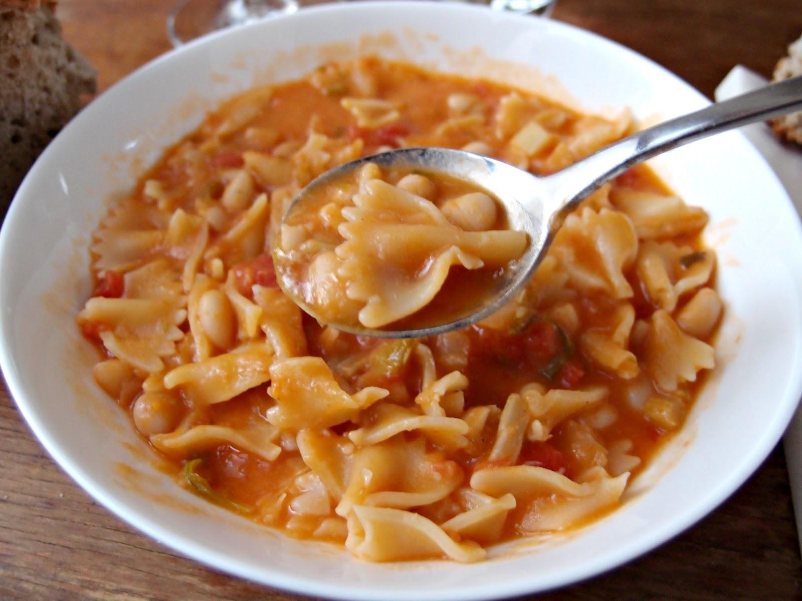 Sopranos recipe for pasta fagioli