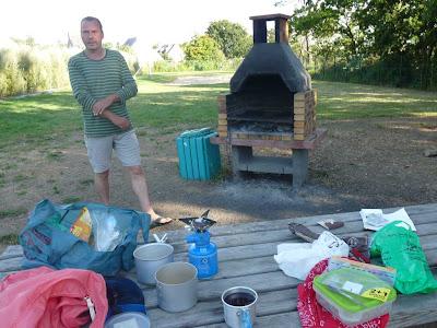 クルッキンキャンプ場 Camping de Cruckin** ブルターニュ