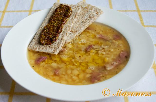 Шведский гороховый суп от Джейми Оливера. Скандинавская кухня