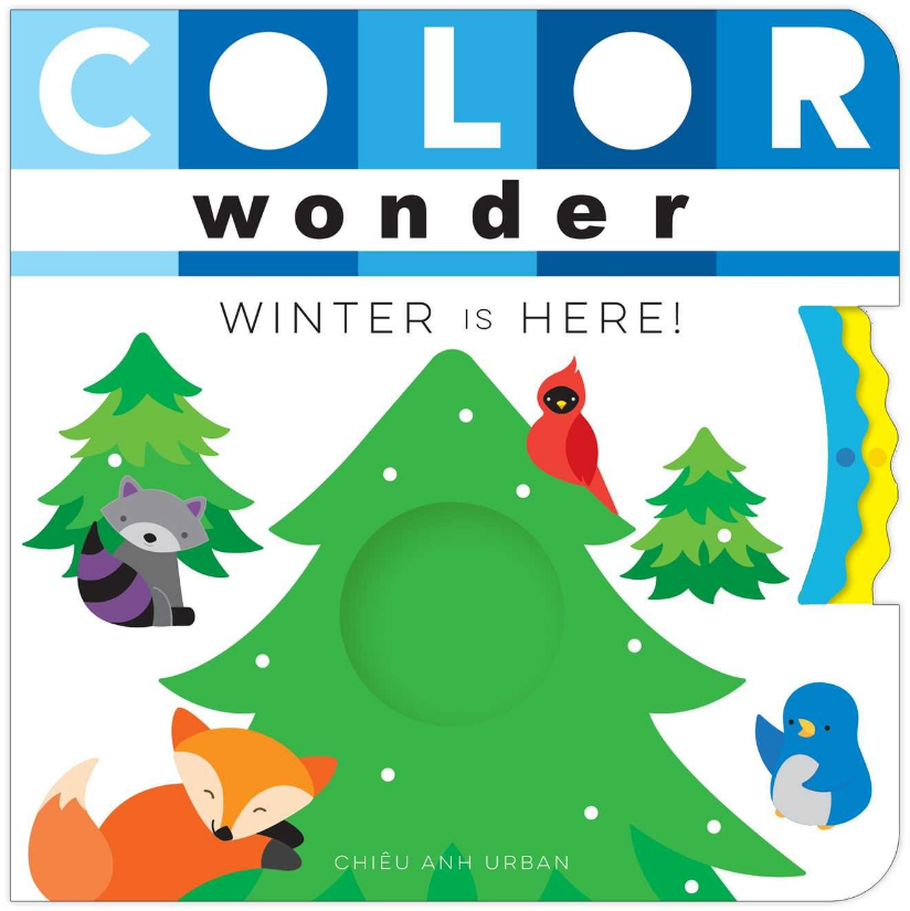 COLOR WONDER: Winter is Here!