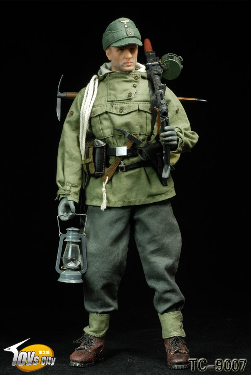 7-Hobby: [TC-9007] TOYSCITY German Mountain Soldiers ...