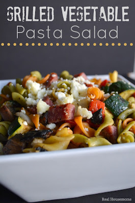 Real Housemoms: Grilled Vegetable Pasta Salad