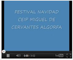 AUDICIÓN NAVIDAD 2013