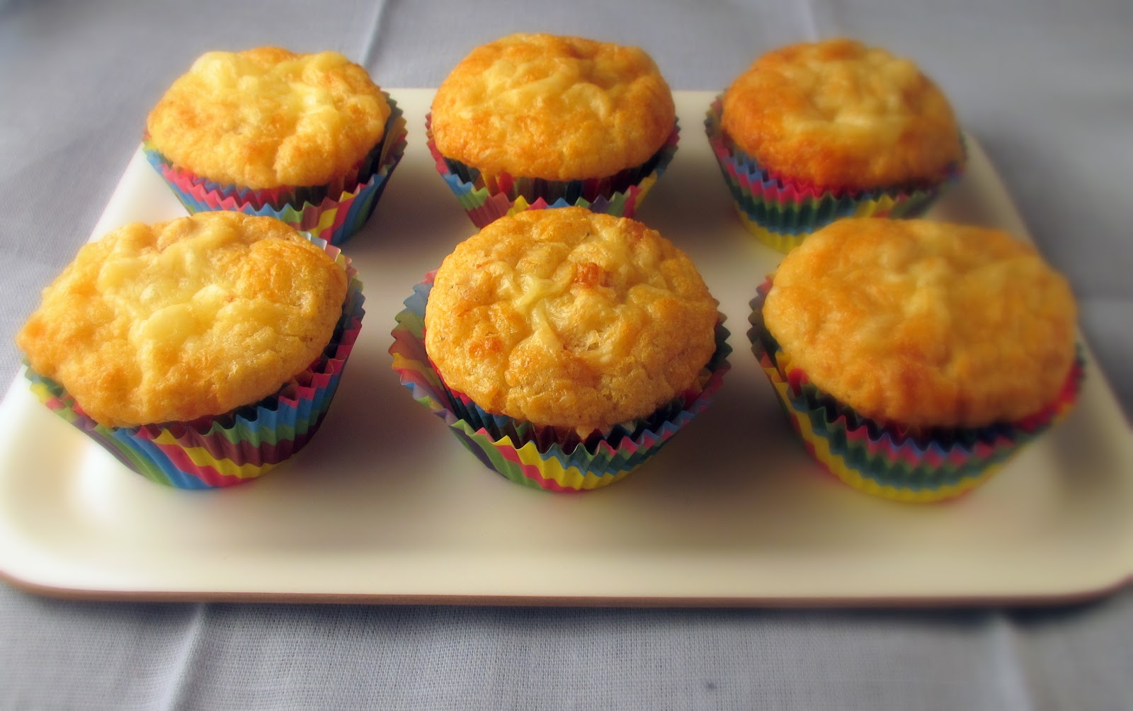 Me And My Sweets: Ham and Cheese Muffins