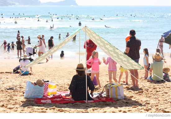 When the tummies started rumbling we picked up excellent fish burgers from Avoca Beach Seafoods and devoured them in ... & Bondville: Sun Smart beach getaway + WIN Australian beach shade ...