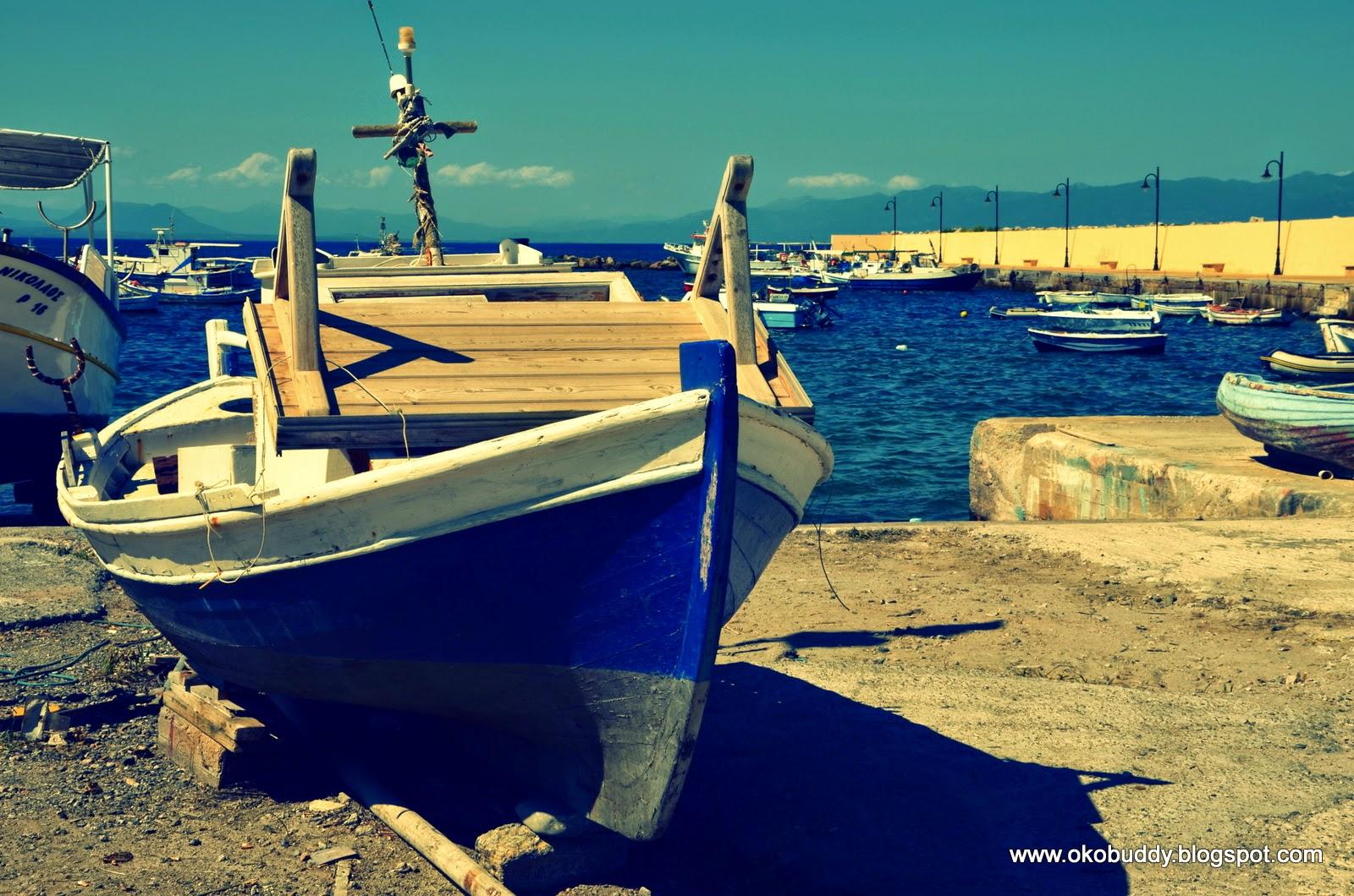 Port w Koroni. Grecja