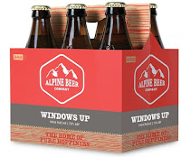 Plain and simple, Alpine's Windows Up IPA is the shizznit!
