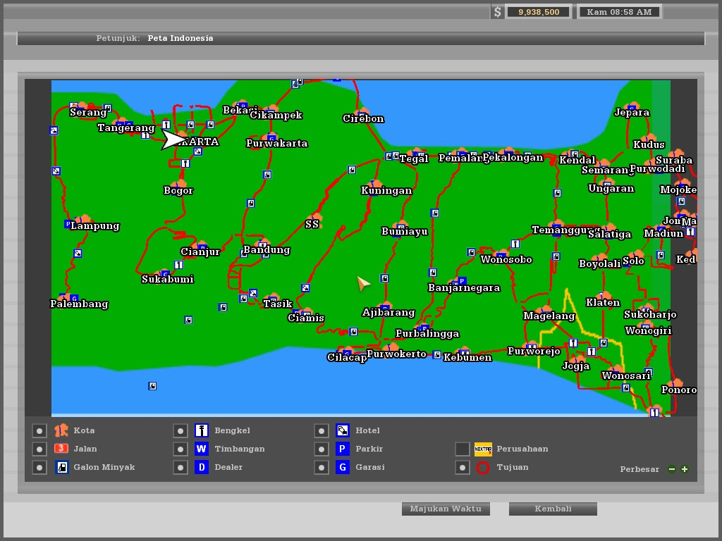 Kumpulan Map Indonesia 18 Wos Haulin NO NAME – Map Ukts Jogja