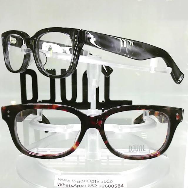 DJUAL日本手造眼鏡的晶瑩通透