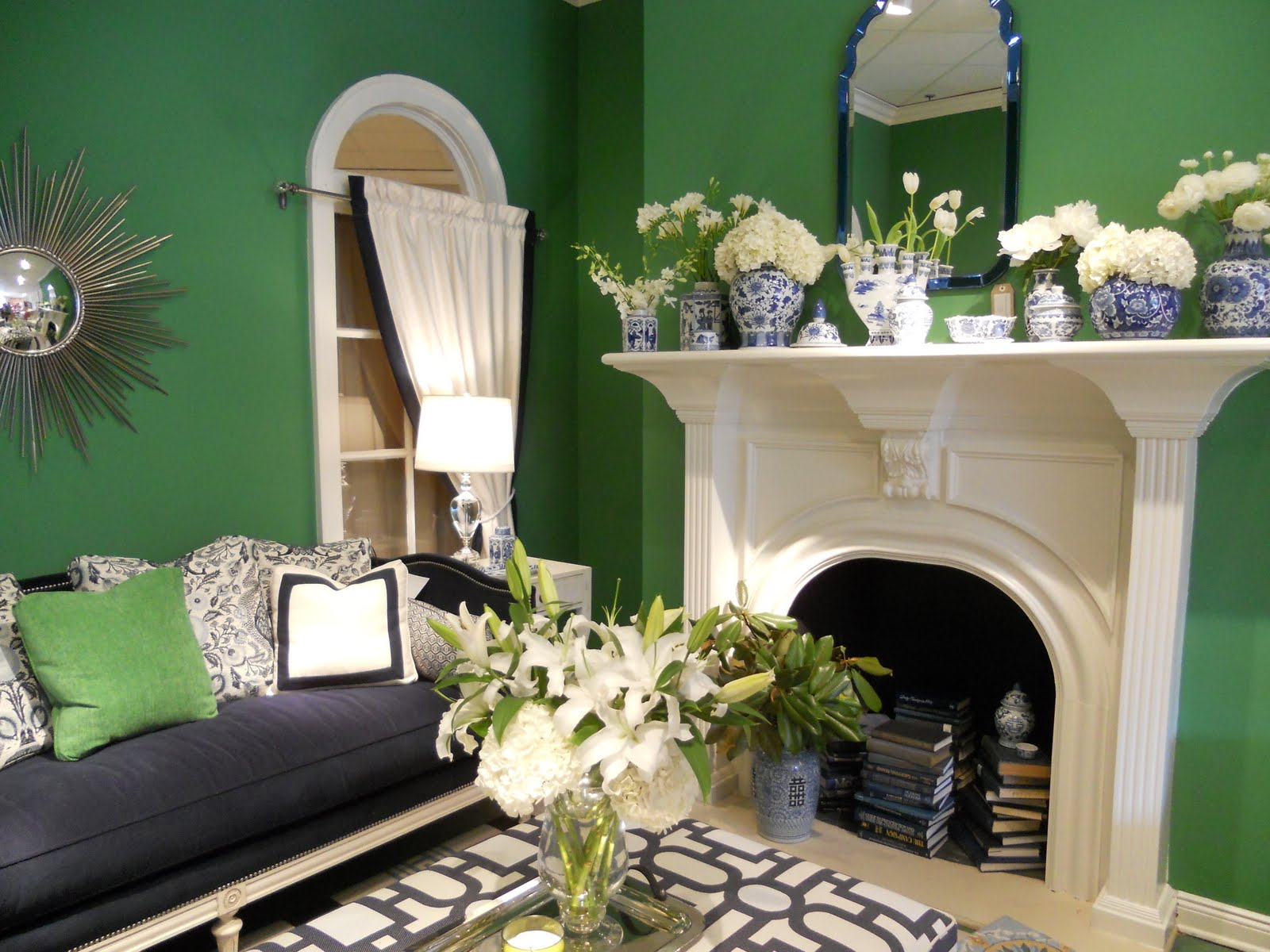 Interiors etc details april 2012 - Pretty green rooms ...