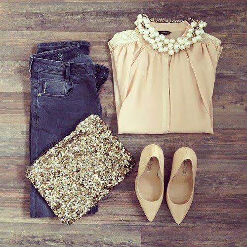 Jeans, Shoes, Earrings, Dress...