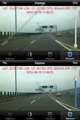 Carcorder - ghi lại chuyến đi kết hợp với GPS
