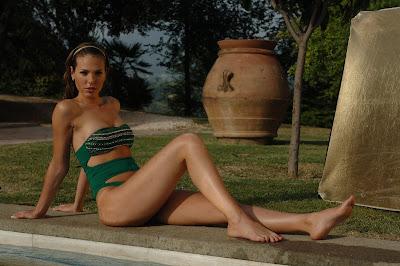 Ilary Blasi- Swimwear photoshoot