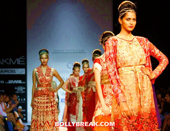 Krishna Mehta creations - Krishna Mehta bridal wear Fashion show