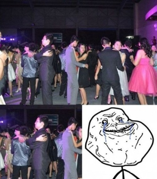 forever alone dancing ball party dancando